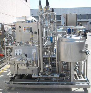 Установка производства йогурта