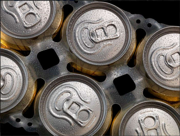 групирующую ленту тип мультипаков для пивных банок