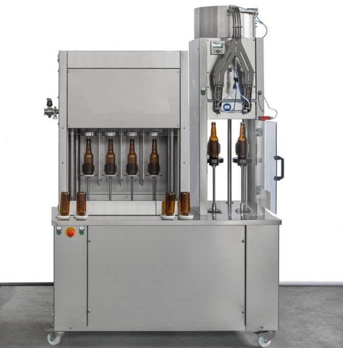 Автоматический розлив воды в 19 литровые бутыли