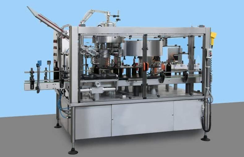 Автоматическая машина для нанесения термо-усадочной капсулы