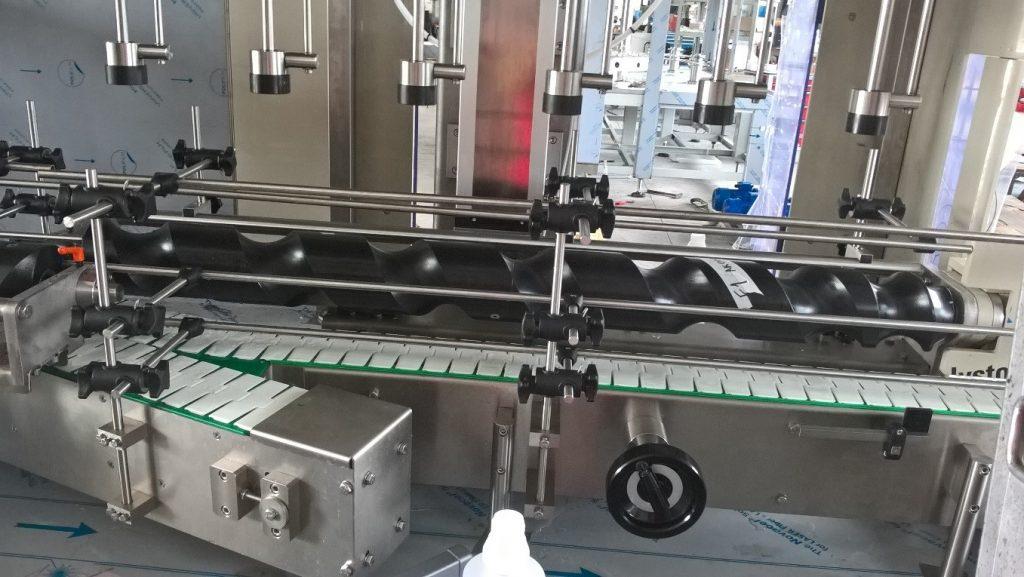 фото сепаратор червячного типа для распределения потока продукции на равное расстояние